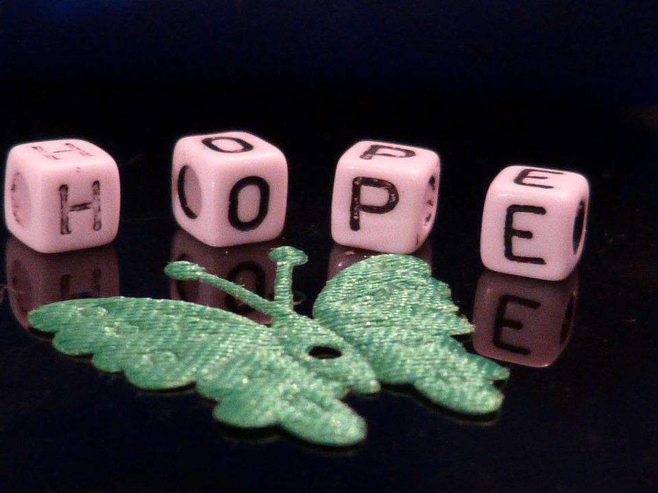 Hope, Beads, Macro, Decoration, Deco, Butterfly, Green