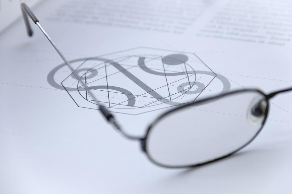 Glasses, Macro, Eye, Vision, Read, Book, Magazine, Grey