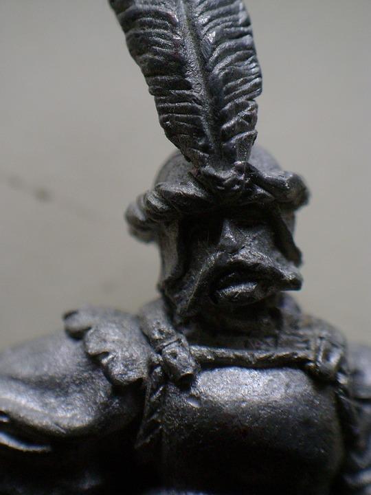 Figure Of Lead, Soldier, Macro