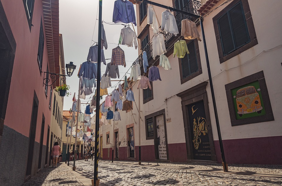 Street, Clothing, Shirts, Decorations, Doors, Madeira