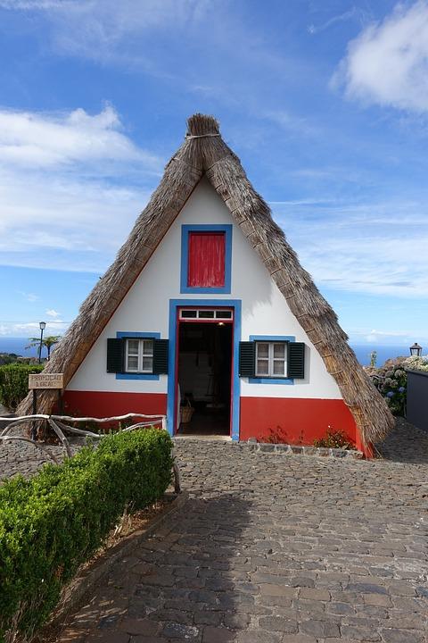 Madeira, Portugal, House, Peace, Original Houses