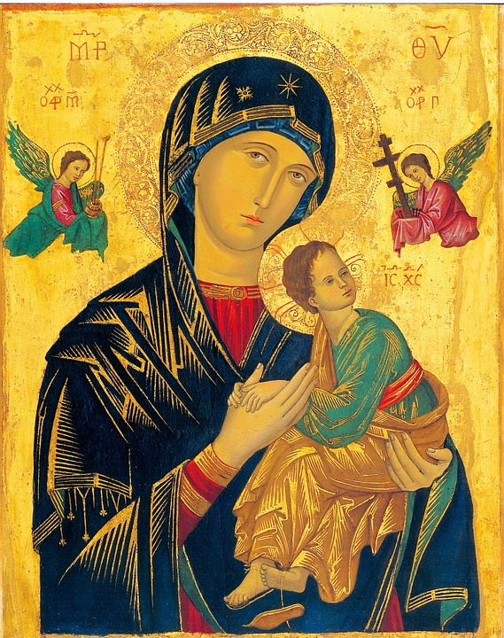 Mother Of Perpetual Help, Madonna, Christianity, Icon
