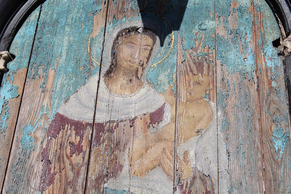 Madonna With Child, Madonna, Jesus Child, Painting