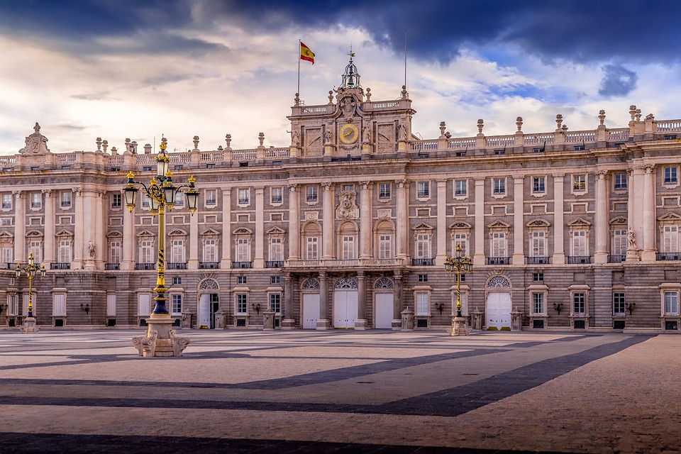 Royal, Palace, Spain, Madrid, Architecture, Landmark