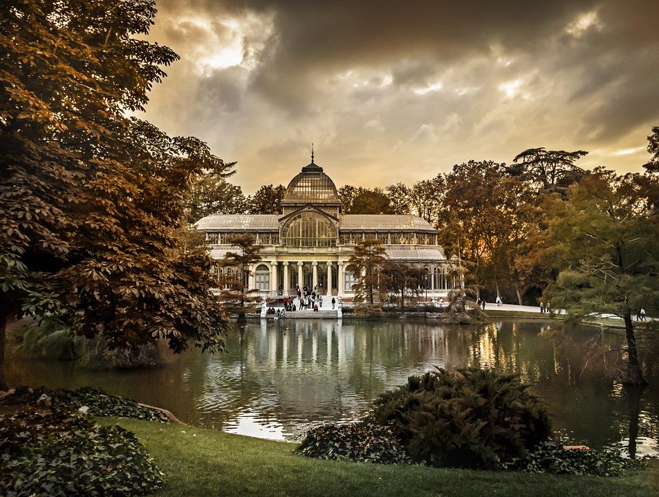 Madrid, Crystal Palace, Parque Del Retiro