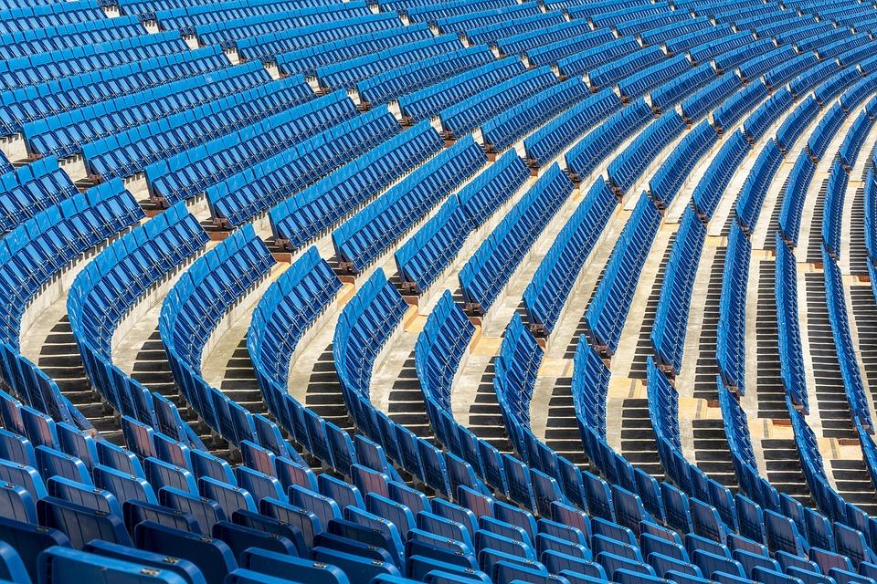 Stadium, Bernabeu, Madrid, Football, Seats