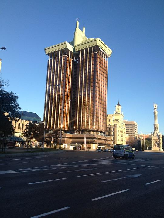 Torres De Colón, Madrid, Skyscraper In Madrid