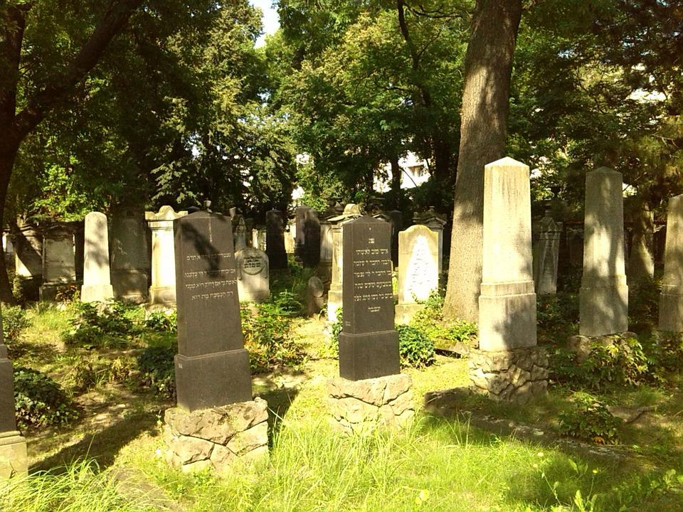 Grave Stones, Graves, Magdeburg, Cemetery