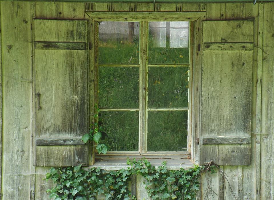 Free Photo Magdenau Looking Outside Window Log Cabin Sawmill Max Pixel