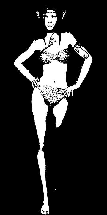 Bikini, Elf, Fairy, Fantasy, Female, Magic, Myth