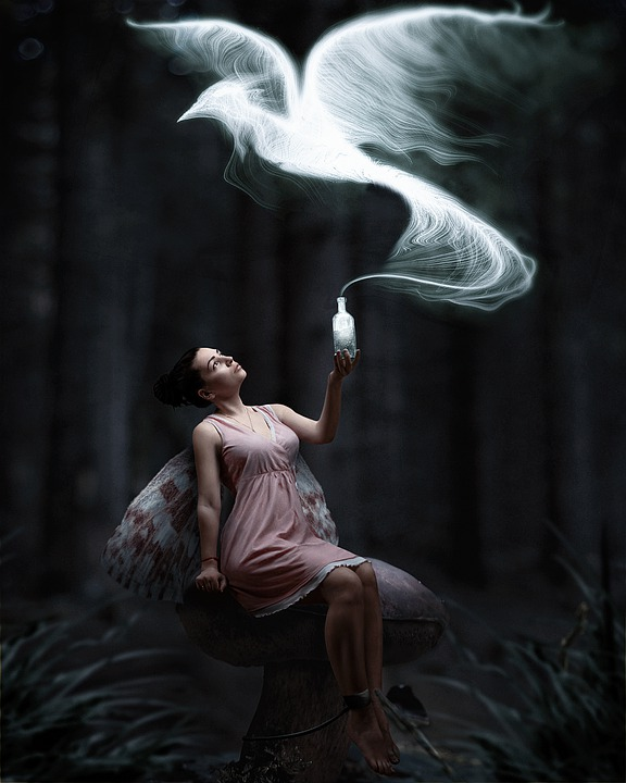 Girl, Fairy, Fantasy, Forest, Tales, Magic, Mysterious