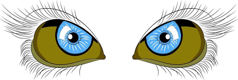 Eyes, Line Art, Line, Design, Magic, Symbol, Triangle
