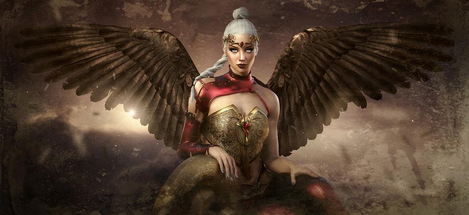 Fantasy, Angel, Mystical, Fantastic, Light, Magic
