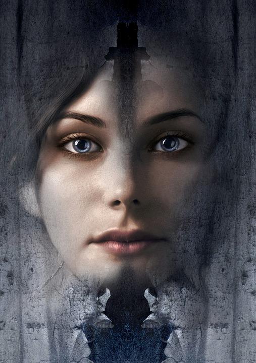 Book Cover, Portrait, Girl, Pretty, Magical, Mystical