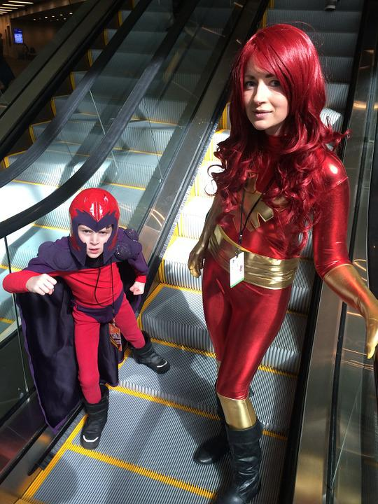 Magneto, Phoenix, Family, Cosplay