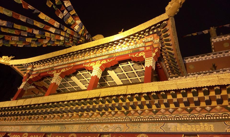 Magnificent Building, Features Building, Tibet Beauty