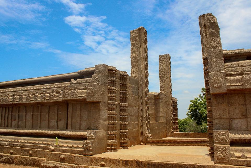 Mahabalipuram, India, Monuments, Stone Carvings
