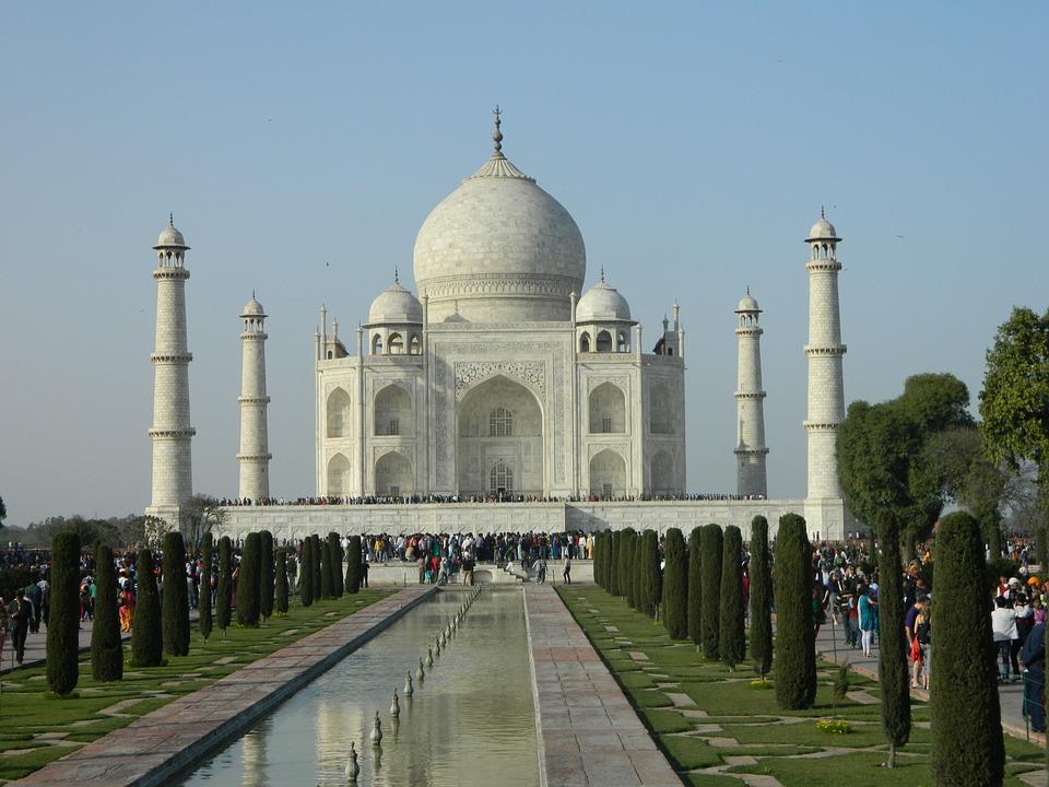 Taj Mahal, India, Mahal, Architecture, Asia, Marble