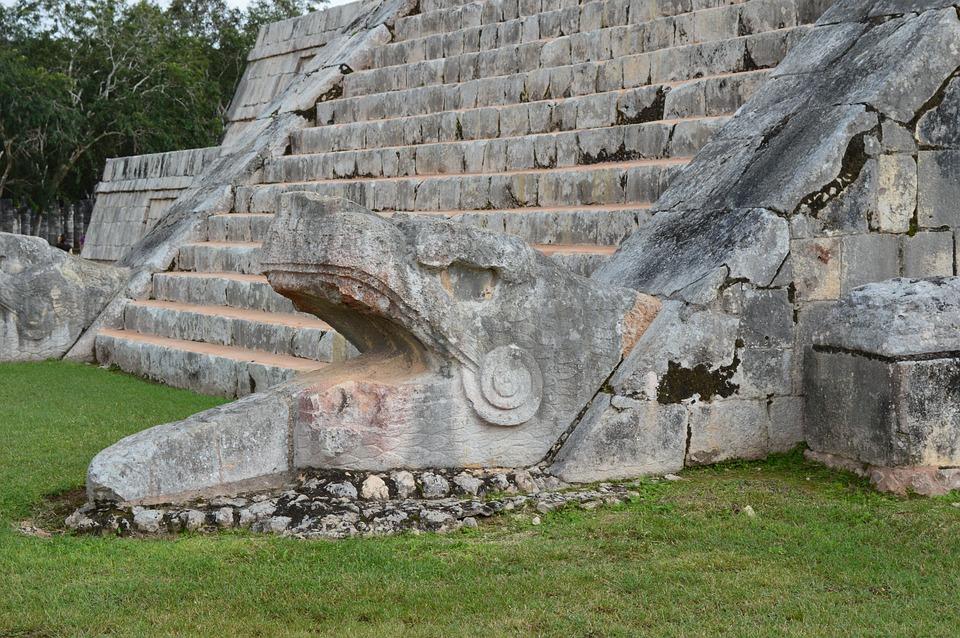 Chichen Itza, Temple, Ruinas, Mexico, Maia, Yucatan