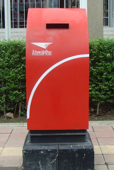 Letter Box, Mail Box, Mailbox, Postal, Red, Send
