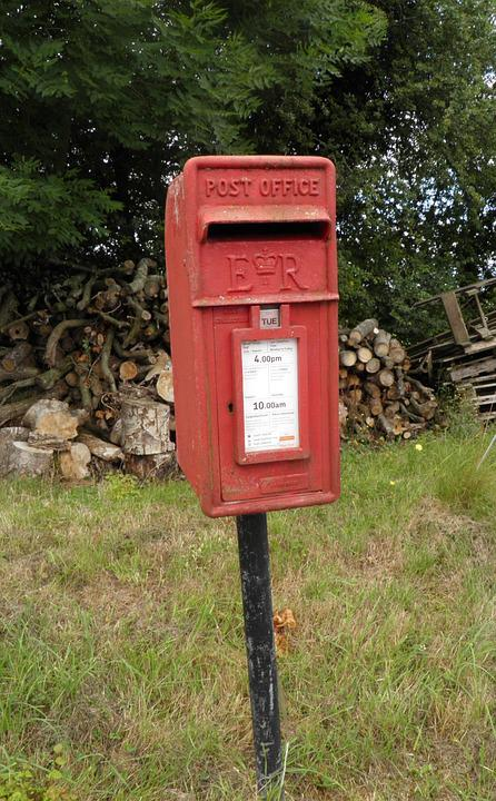Post Box, Vintage, Rural, Old, Mail, Retro, Letter