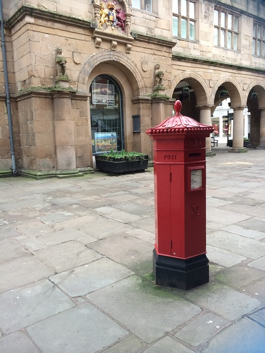 Post Box, Red, Mailbox, Postbox, Delivery, Letter