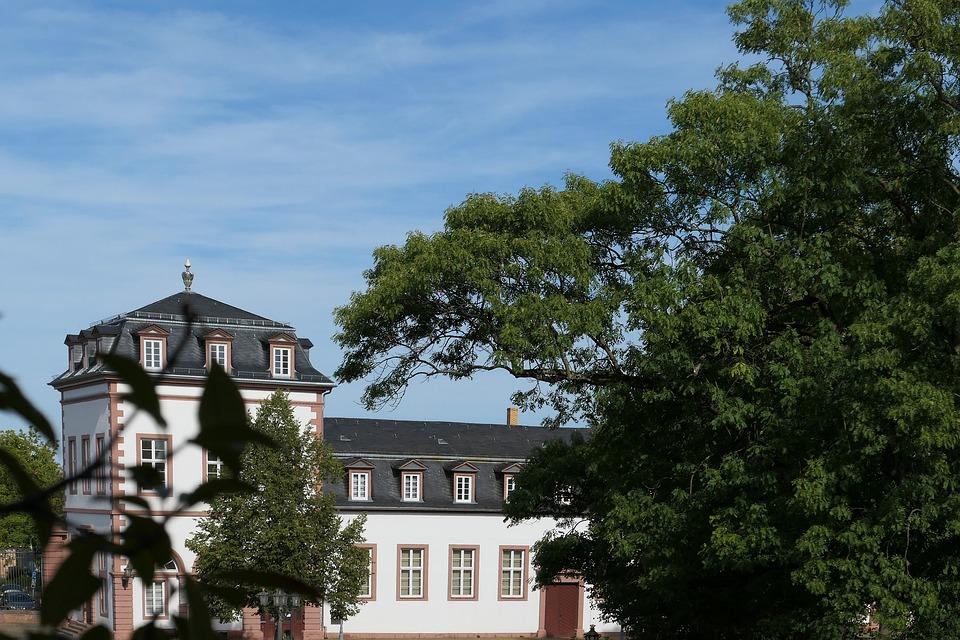 Castle, Hanau, Phillipsruh, Main Banks, River