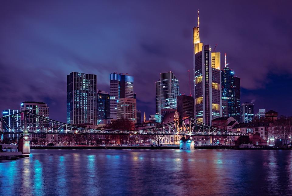 Frankfurt, City, Skyline, Skyscraper, Germany, Main