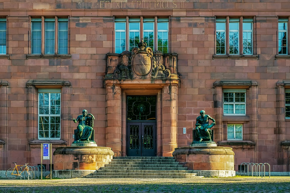 Albert-ludwigs-university Of, Freiburg, Main Entrance