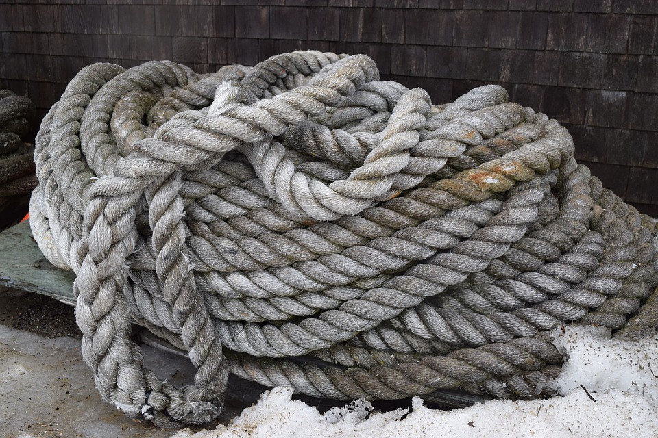 Rope, Sea Salt, Maine