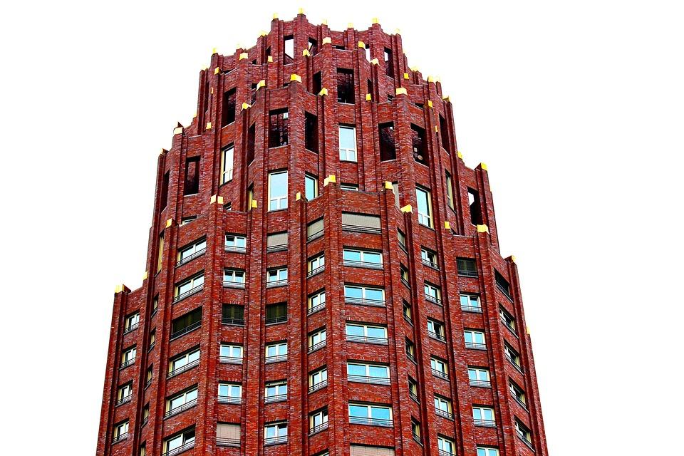 Skyscraper, Frankfurt, Mainplaza, Skyline, Architecture