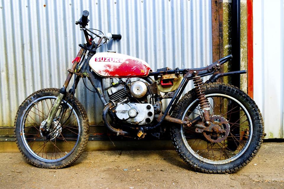 Motorcycle, Restoration, Repair, Motor, Maintenance