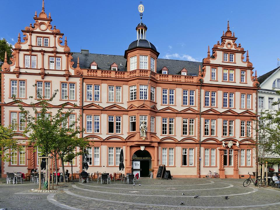 Gutenberg Museum, Mainz, Museum, Building, Architecture