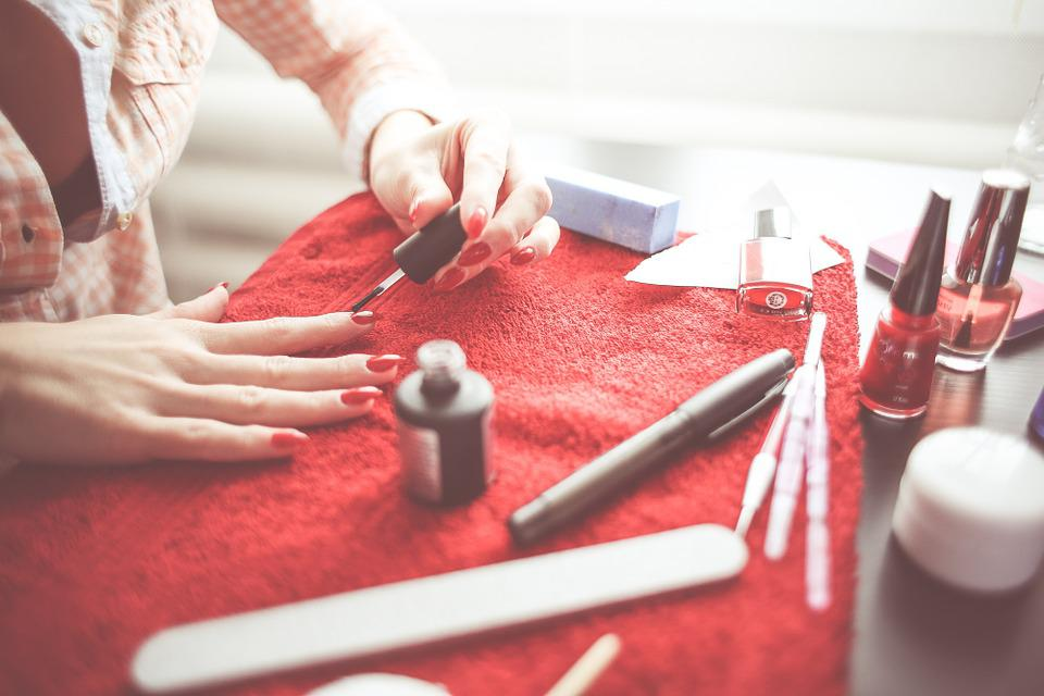 Nails, Polish, Makeup, Get Ready, Date, Female, Girl