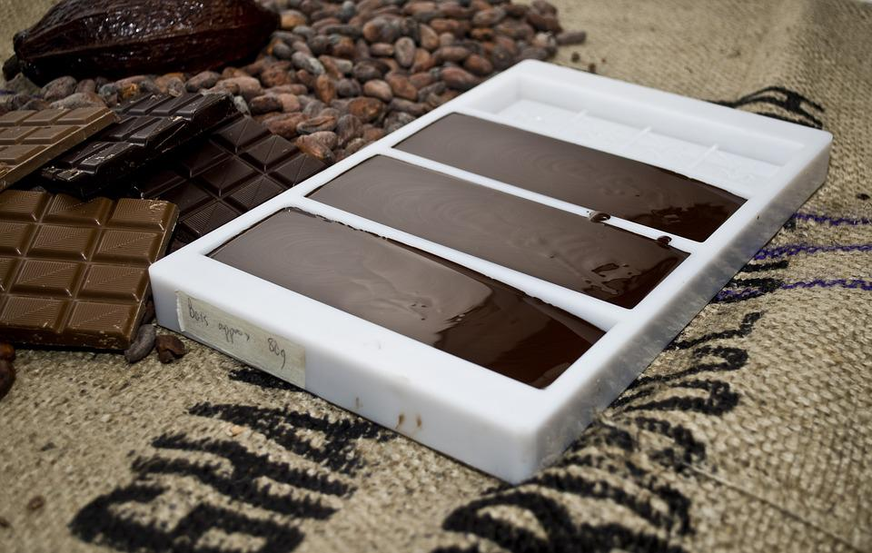 Chocolate, Mould, Mold, Making, Business, Cocoa