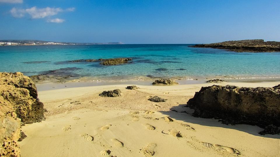 Cyprus, Makronissos Beach, Cove, Calm