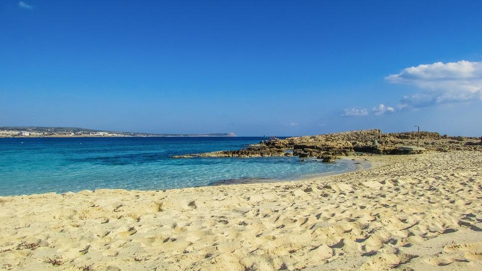 Cyprus, Ayia Napa, Makronissos Beach, Sand, Sea, Resort