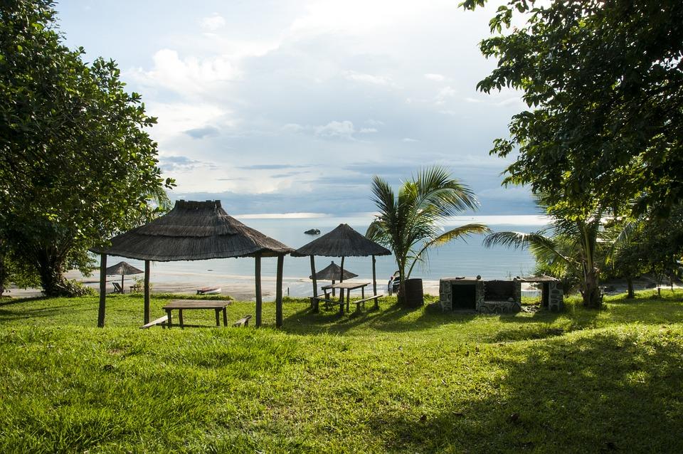 Malawi, Lake, Hut, Water, Waters, Nature, Landscape