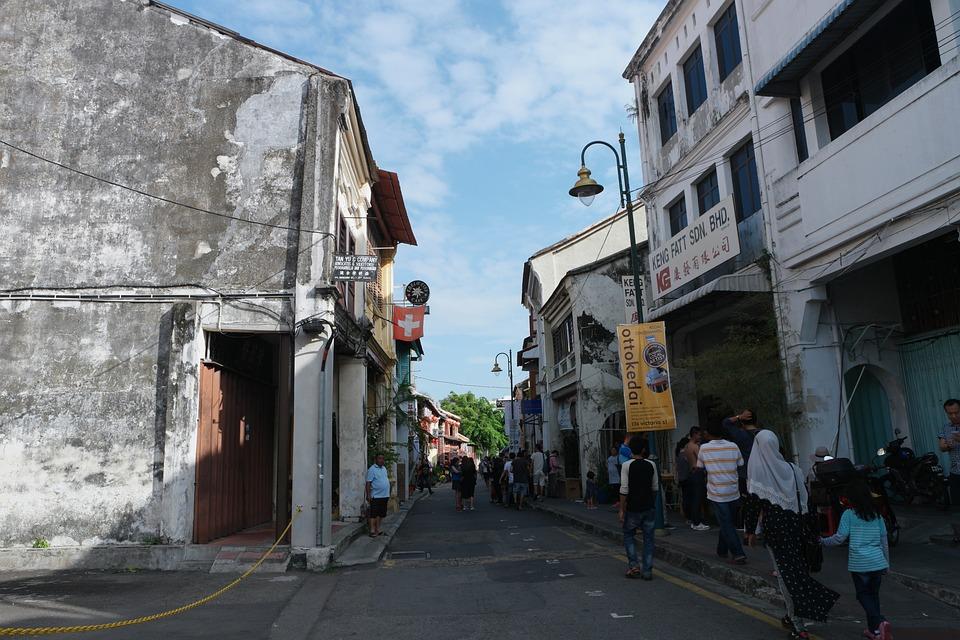Malaysia, Travel, Tourism, Georgetown, Shophouses