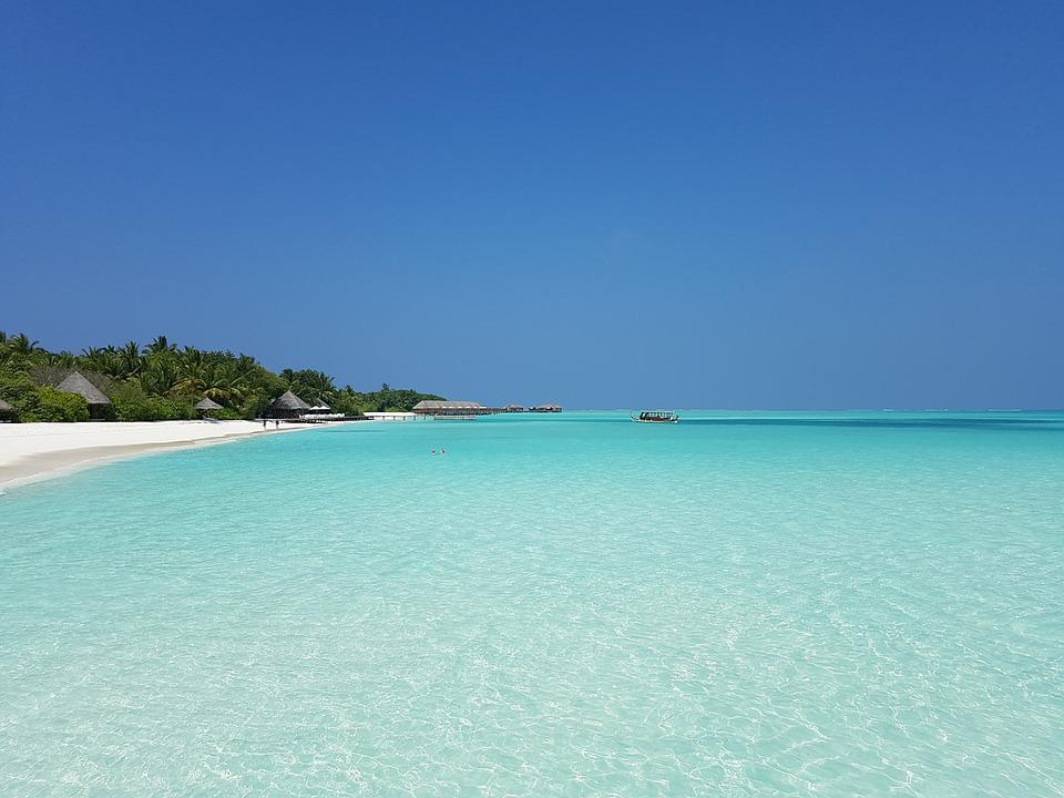 Beach, Atoll, Maldives