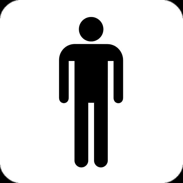 Restroom, Sign, Gentlemen, Symbol, Man, Male, Figure
