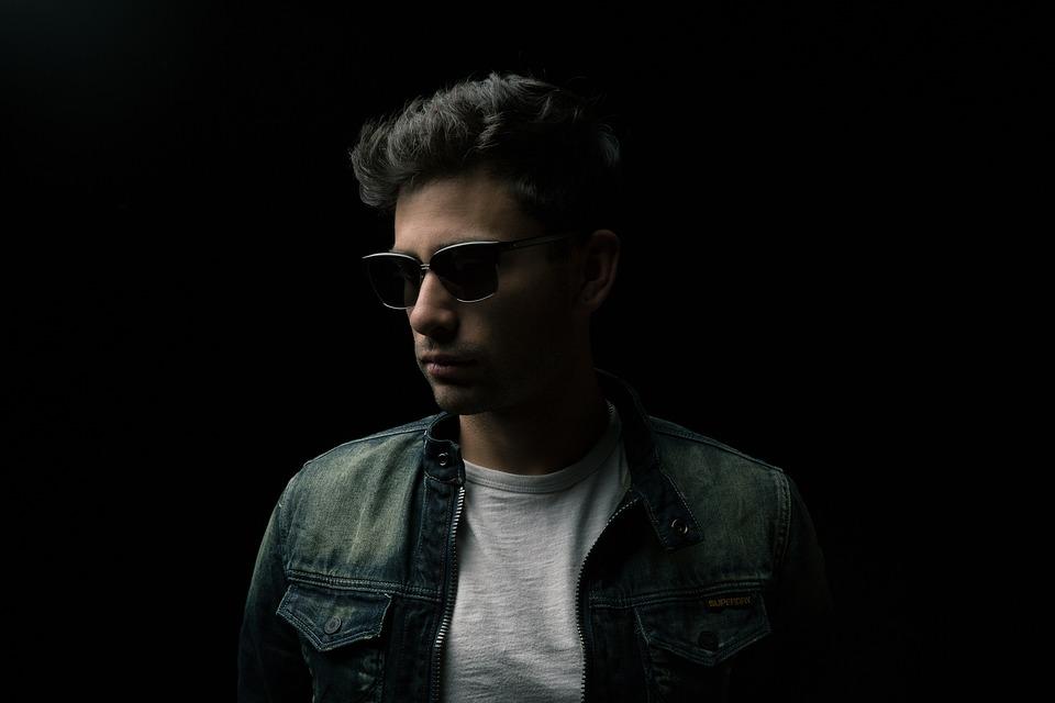 Man, Sun Glasses, Jacket, Portrait, Male, Masculine