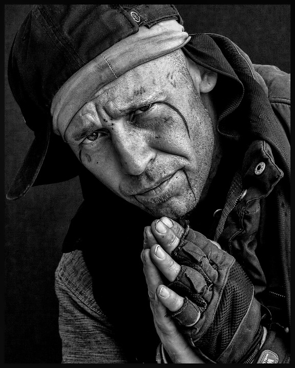 Homeless, Youth, Male, Sad, Young, Person, Solitude