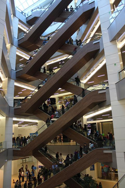 Waterfront, Mall, Mechanic Stairs, Consumers, Center