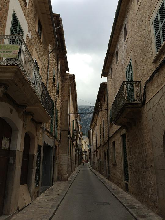 Mallorca, Alley, Road