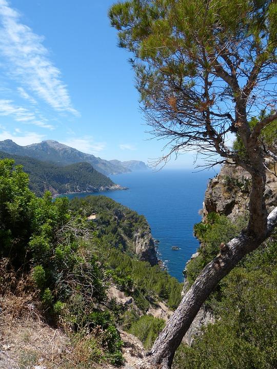 Spain, Mallorca, Balearic Islands, Summer, Coast