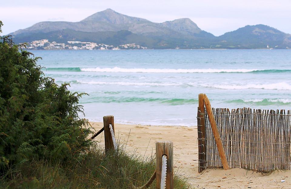 Majorca, Beach, Sea, Holiday, Water, Spain, Mallorca