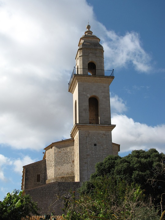 Church, Majorca, Spain, Mallorca, Building