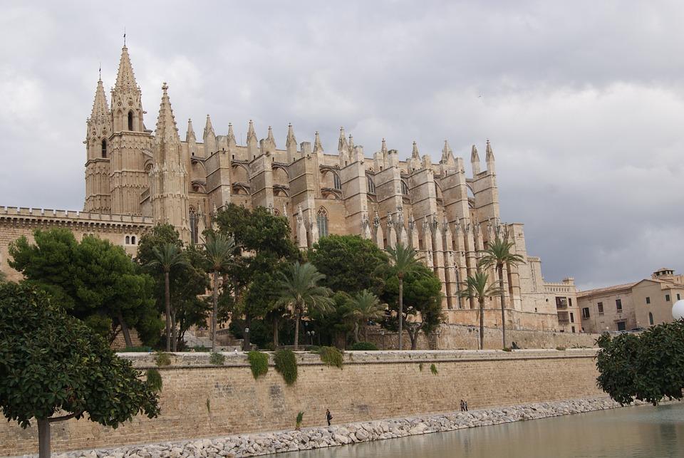 Church, Cathedral, Palma, Dom, Mallorca