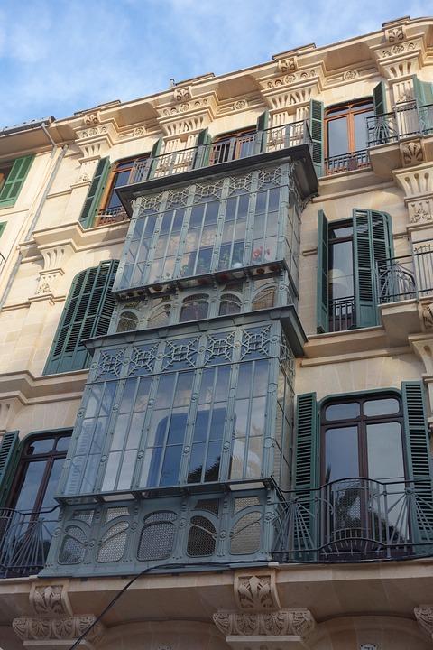 Art Nouveau, La Lonja, Palma, Mallorca